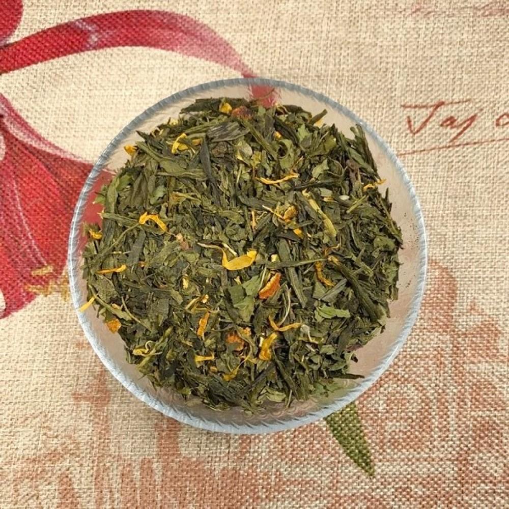 """Чай на вагу листовий """"Мохіто"""" 100г"""