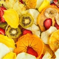 Натуральні фруктові та овочеві чіпси