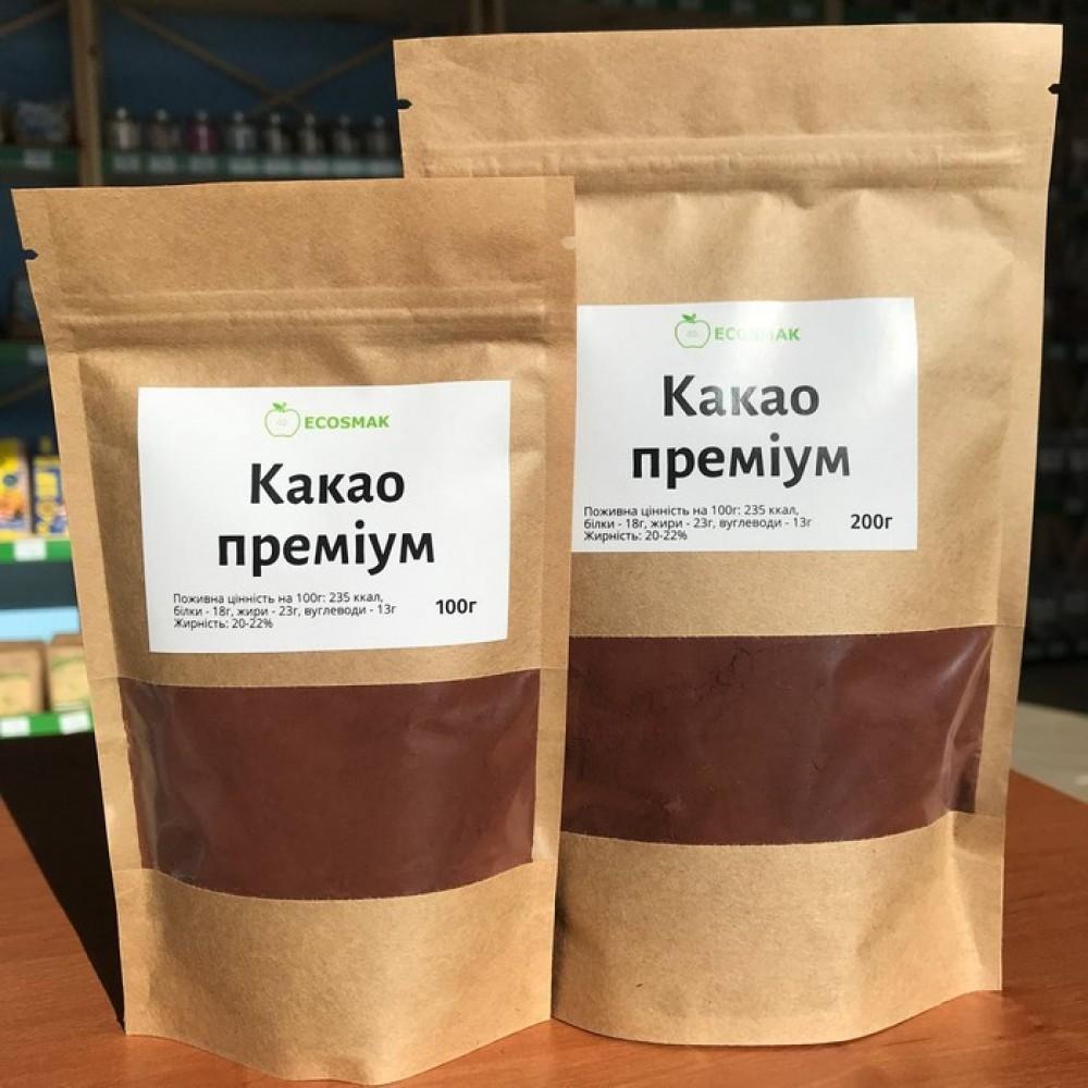 Какао порошок преміум