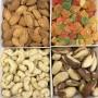 Подарункова коробка горіхів та цукатів 700г