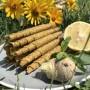 Пастила лимонна з імбирем, м'ятою та медом